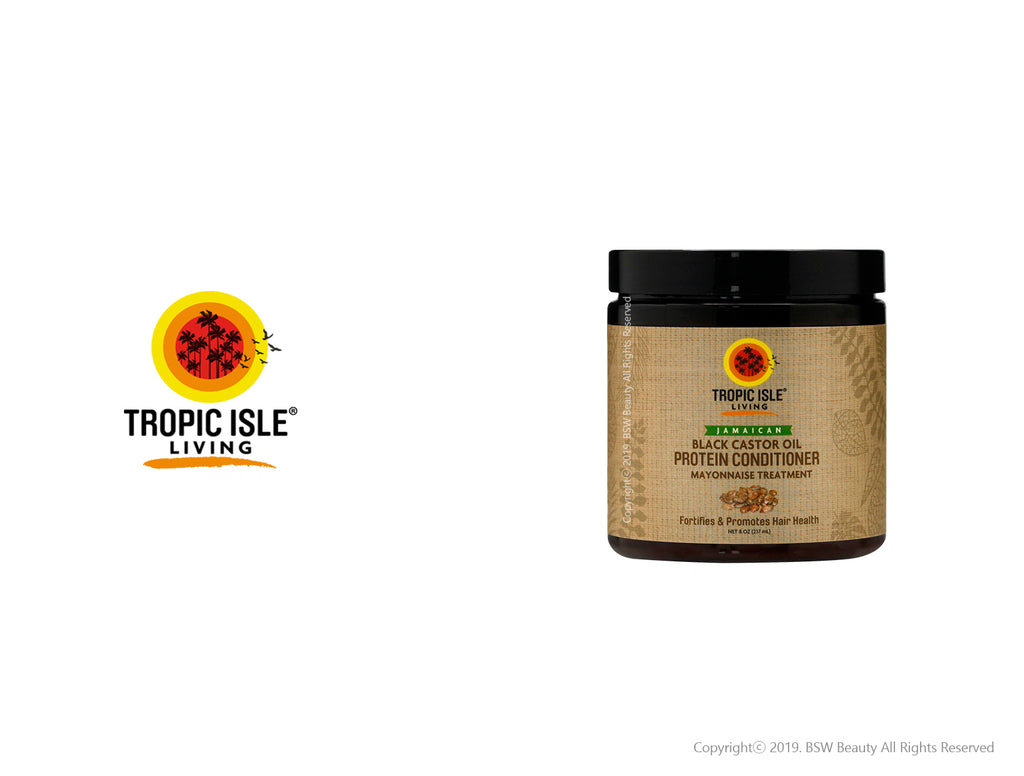 TROPIC ISLE LIVING JAMAICAN BLACK CASTOR OIL PROTEIN CONDITIONER 8oz