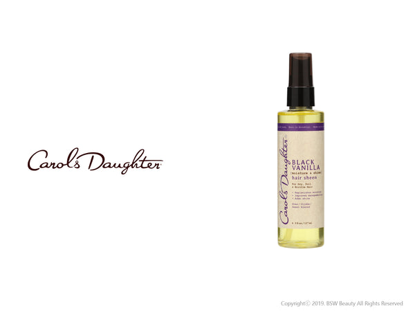 CAROLS DAUGHTER BLACK VANILLA MOISTURE & SHINE HAIR SHEEN 4.3oz