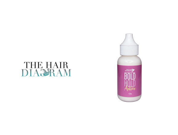 THE HAIR DIAGRAM BOLD HOLD ACTIVE LACE GLUE ADHESIVE 1.3oz