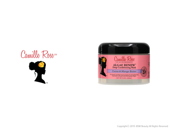 CAMILLE ROSE ALGAE RENEW DEEP CONDITIONER COCOA & MANGO BUTTER 8oz