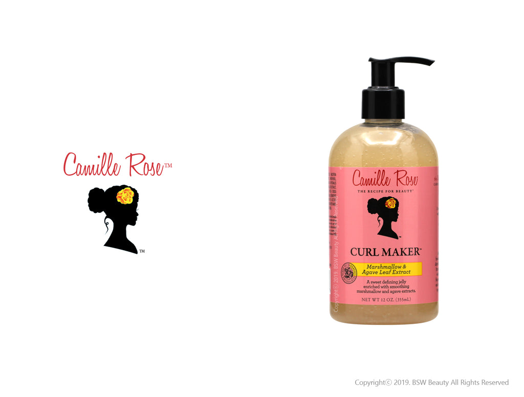 CAMILLE ROSE NATURALS CURL MAKER MARSHMALLOW & AGAVE LEAF EXTRACT 12oz***