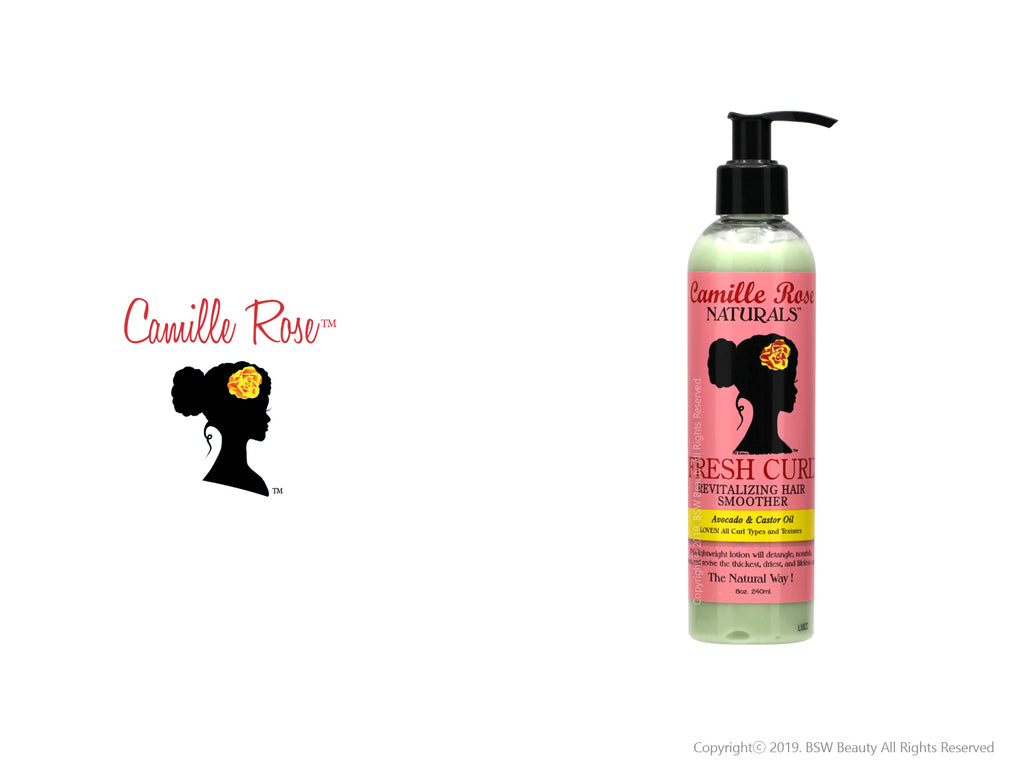 CAMILLE ROSE NATURALS FRESH CURL REVITAL HAIR SMOOTHER AVOCADO & CASTOR OIL 8oz