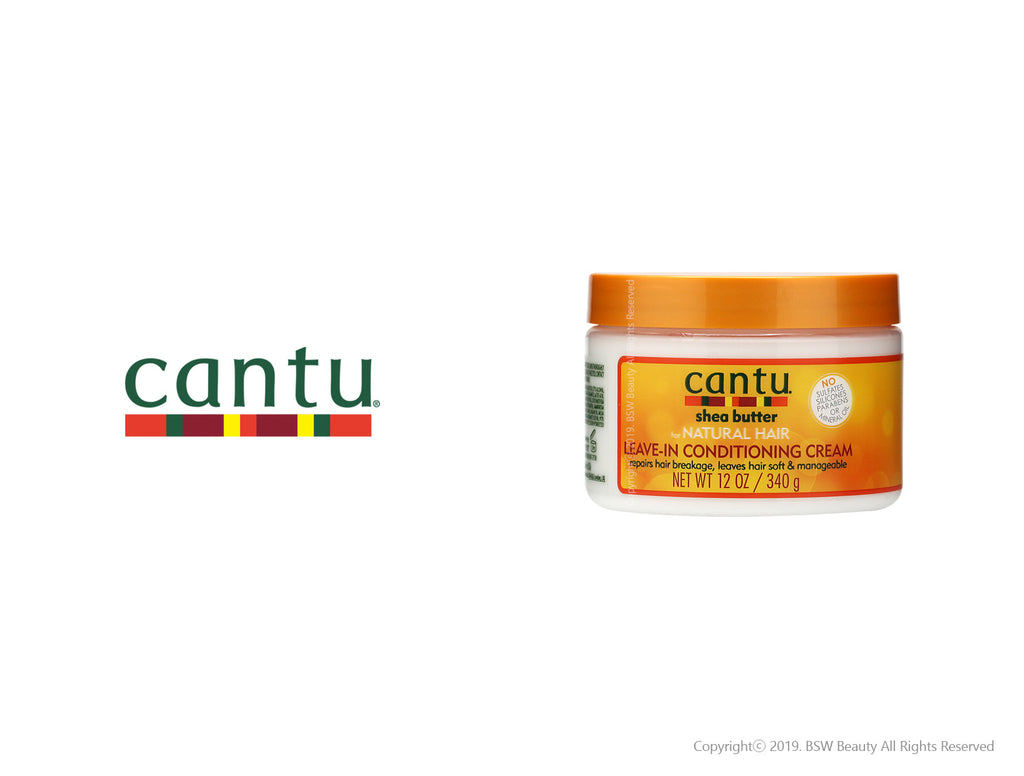CANTU FOR NATURAL LEAVE IN CONDITIONING CREAM 12oz