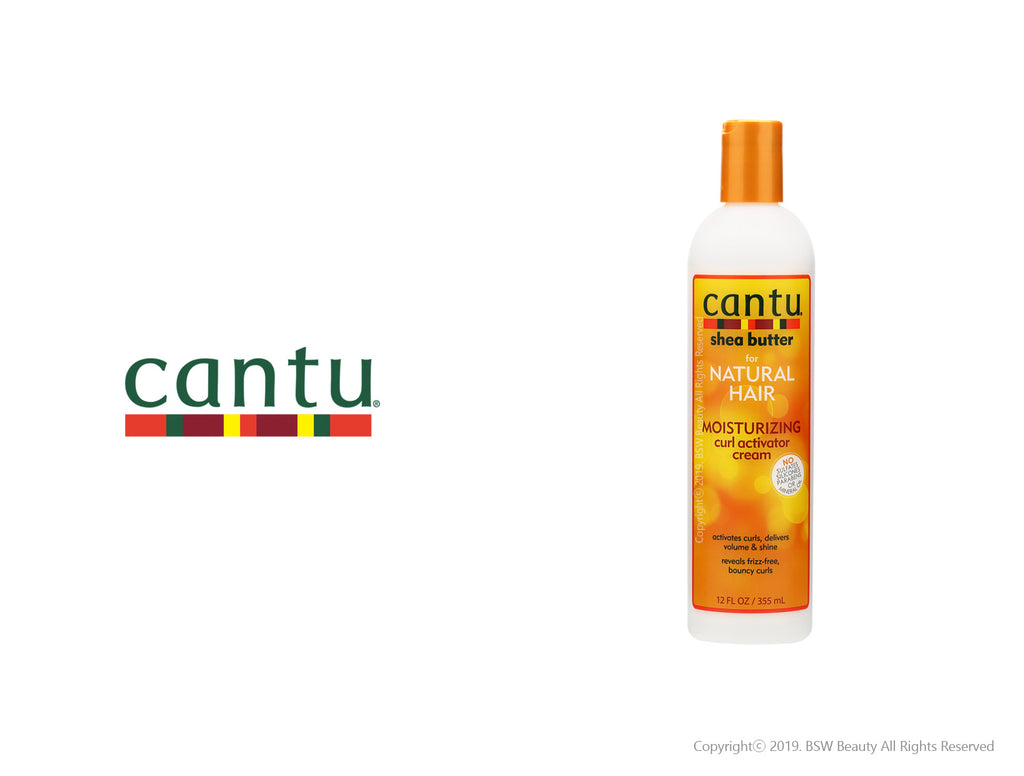 CANTU FOR NATURAL HAIR MOISTURIZING CURL ACTIVATOR CREAM 12oz