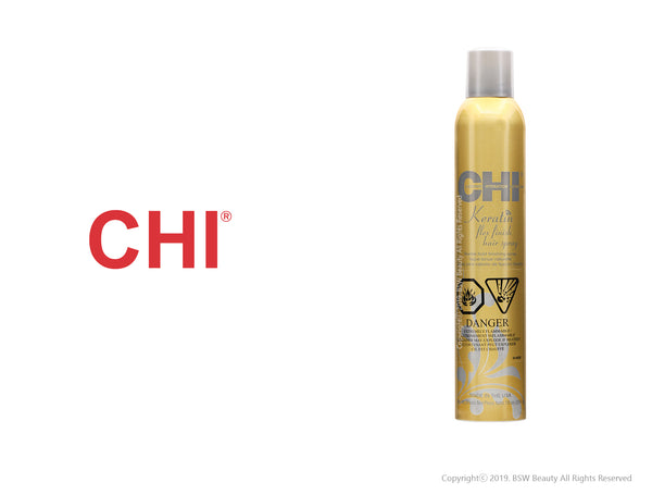 CHI KERATIN FLEXIBLE FINISH HAIR SPRAY 10oz