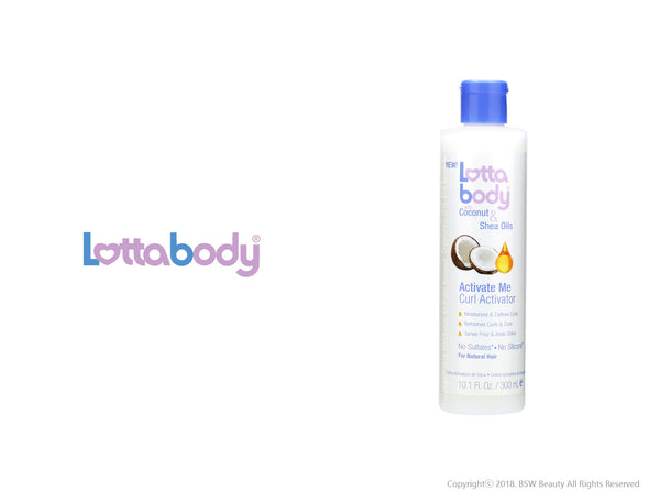 LOTTABODY COCONUT & SHEA OILS ACTIVATE ME CURL ACTIVATOR 10.1oz