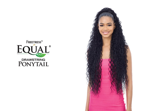SHAKE N GO FREETRESS EQUAL DRAWSTRING PONYTAIL CRUSH GIRL 36""