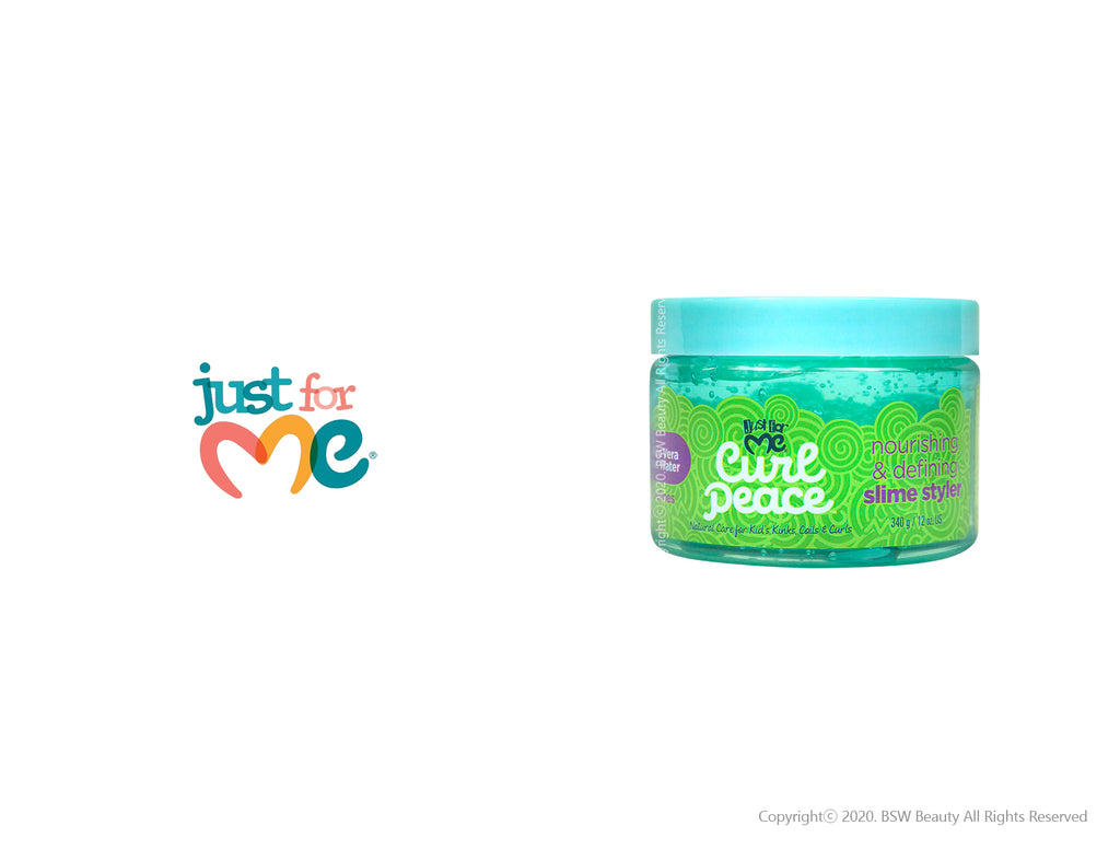JUST FOR ME CURL PEACE NOURISHING & DEFINING SLIME STYLER 12oz