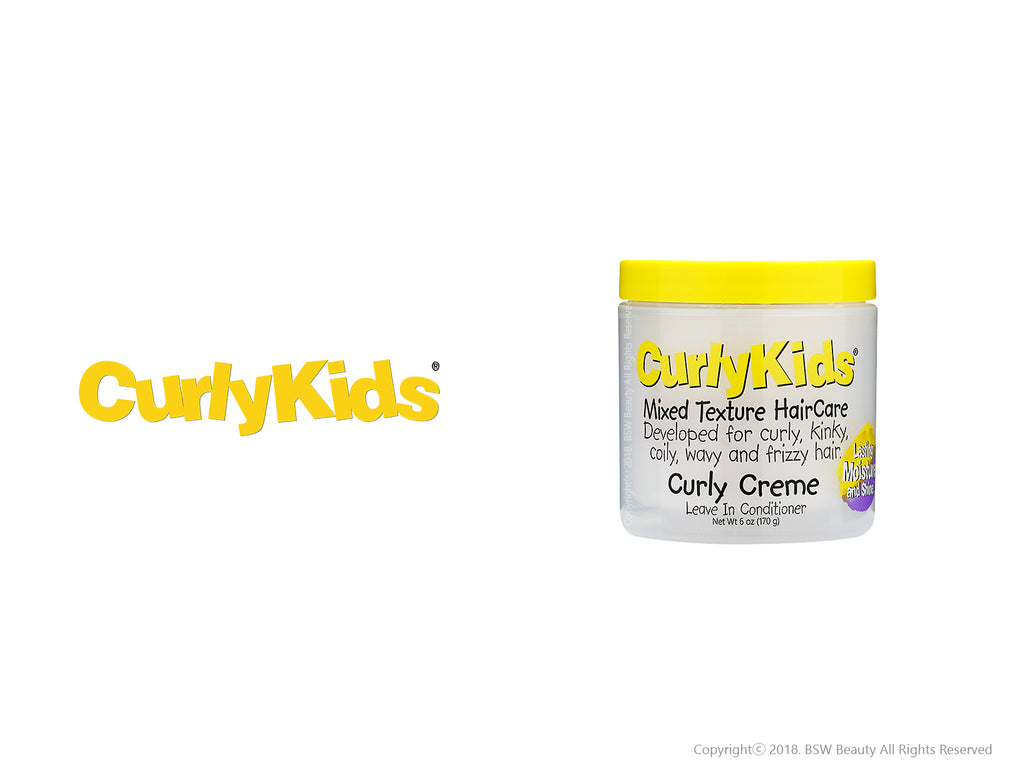 CURLY KIDS CURLY CREME LEAVE IN CONDITIONER 6oz