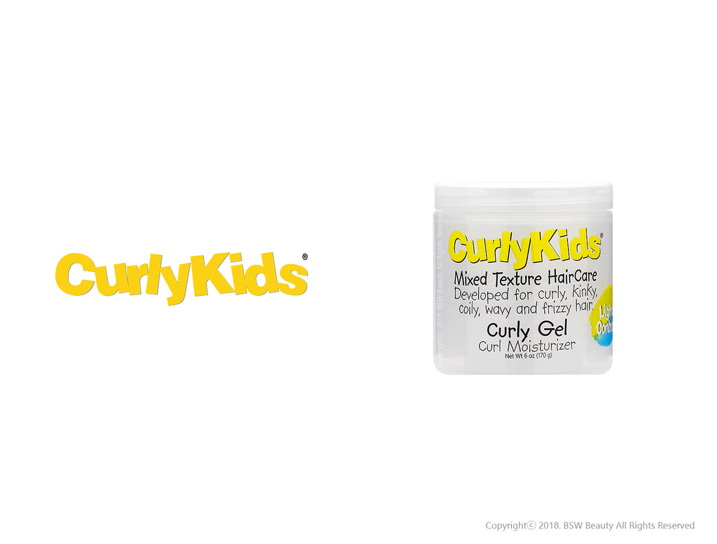 CURLY KIDS MIXED TEXTURE HAIRCARE CURLY GEL CURL MOISTURIZER 6oz