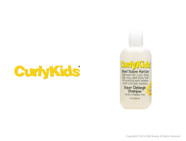 CURLY KIDS SUPER DETANGLE SHAMPOO 8oz