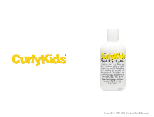CURLY KIDS SUPER DETANGLING CONDITIONER 8oz