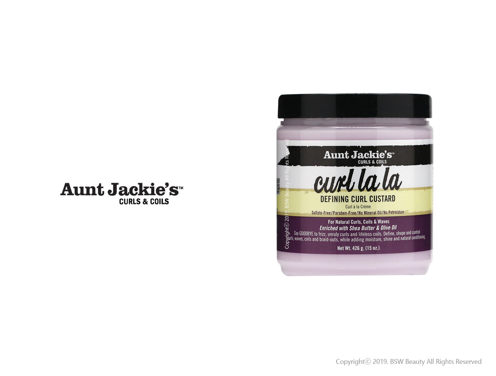 AUNT JACKIES CURL LA LA DEFINING CURL CUSTARD 15oz