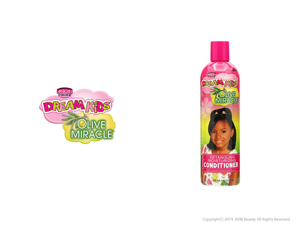 AFRICAN PRIDE DREAM KIDS OLIVE MIRACLE DETANGLING MOISTURIZING CONDITIONER 12oz***