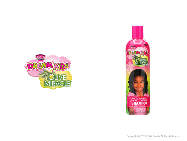 AFRICAN PRIDE DREAM KIDS OLIVE MIRACLE DETANGLING MOISTURIZING SHAMPOO 12oz