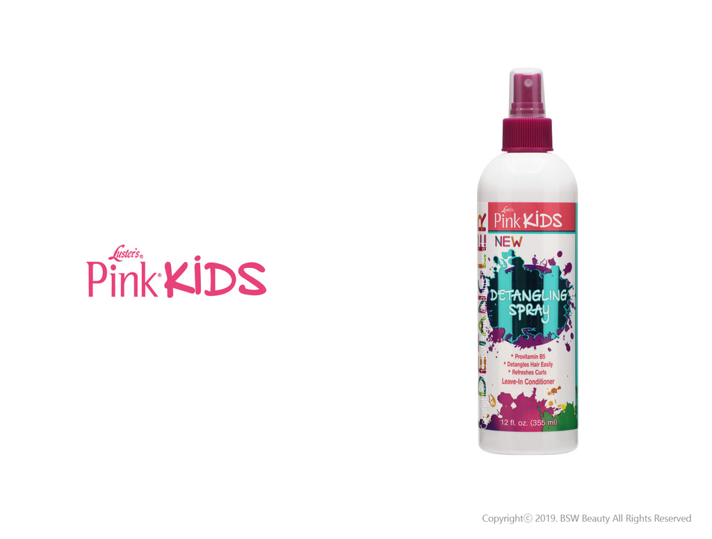 LUSTER'S PINK KIDS DETANGLING SPRAY 12oz