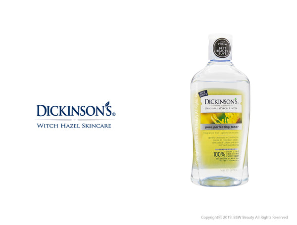 T.N. DICKINSON'S ORIGINAL WITCH HAZEL PORE PERFECTING TONER