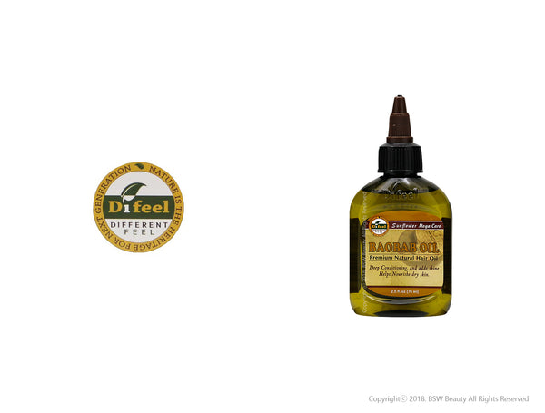 DIFEEL SUNFLOWER MEGA CARE HAIR OIL 2.5oz - 8TYPE