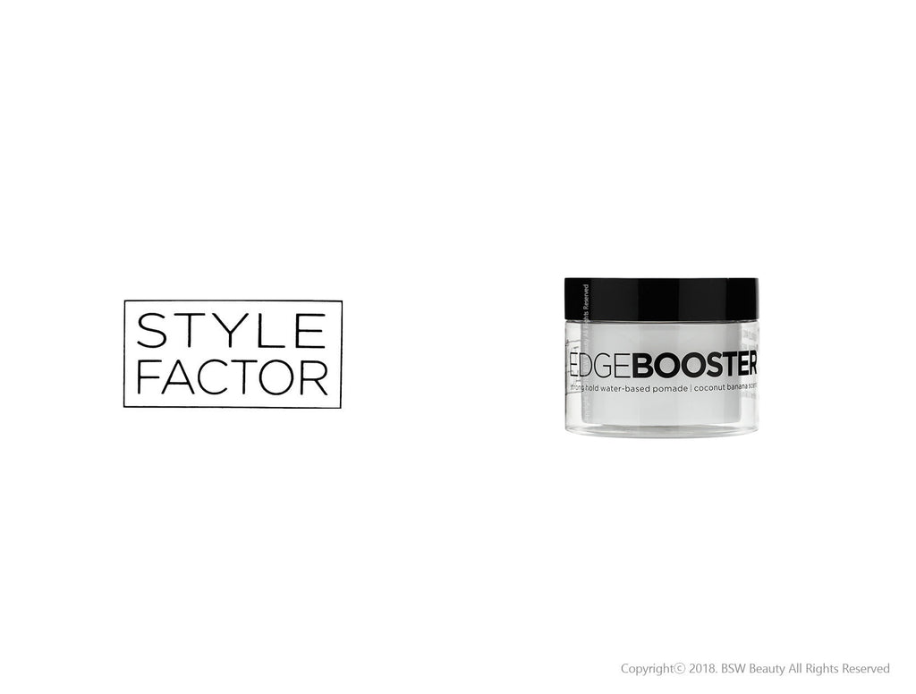 STYLE FACTOR EDGE BOOSTER STRONG HOLD WATER-BASED POMADE 3.38oz - 9 SCENT
