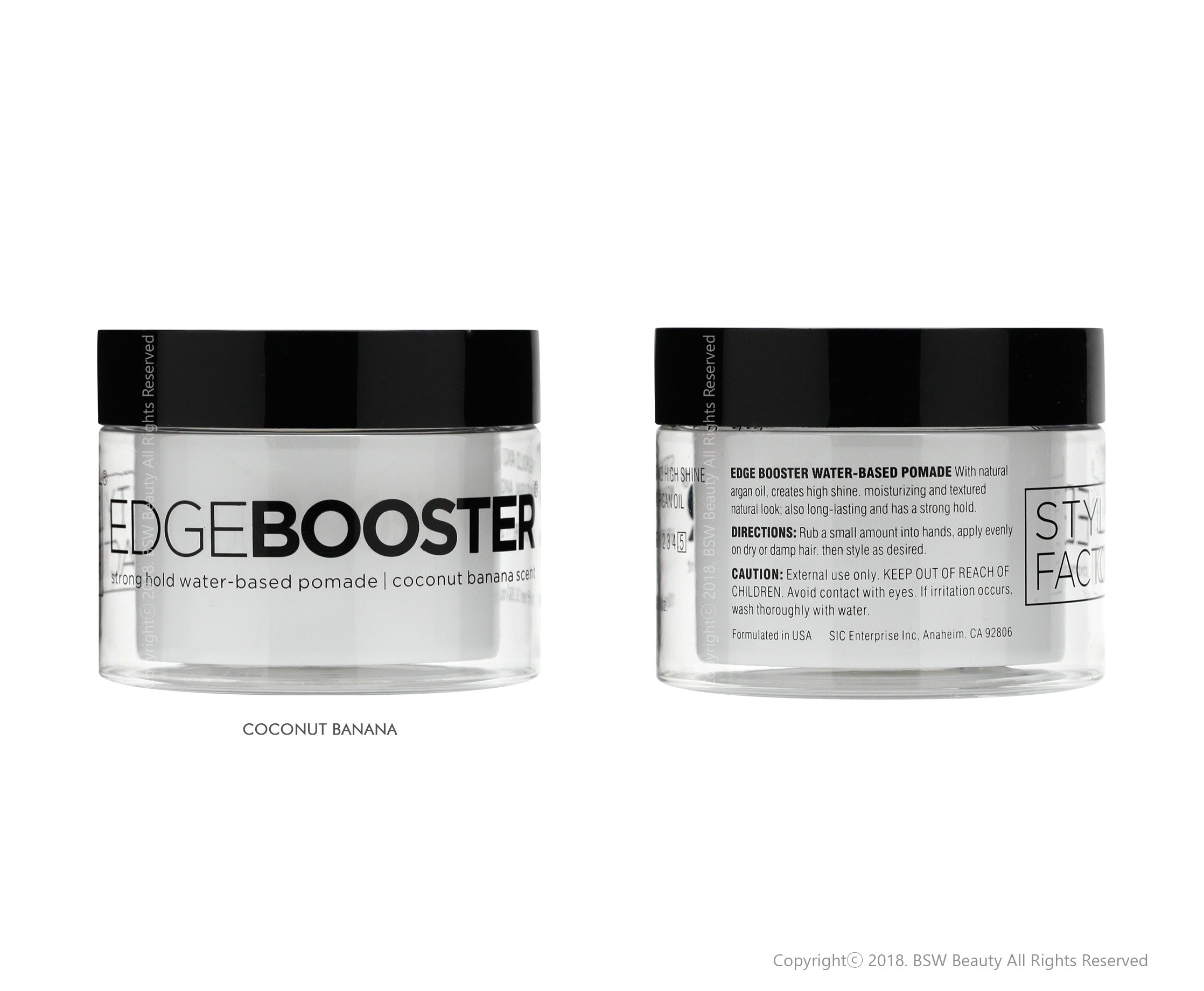 STYLE FACTOR EDGE BOOSTER STRONG HOLD WATER,BASED POMADE