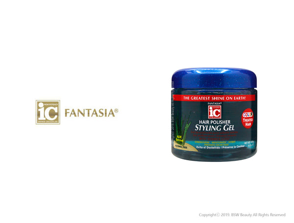 FANTASIA IC HAIR POLISHER STYLING GEL COLOR TREATED HAIR 16oz