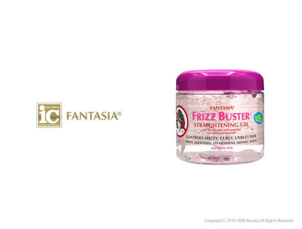 FANTASIA IC FRIZZ BUSTER STRAIGHTENING GEL 16oz