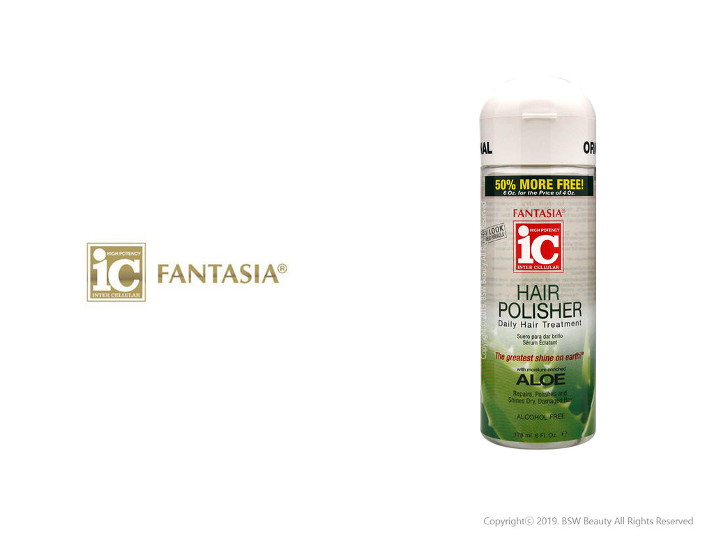 FANTASIA IC HAIR POLISHER ALOE 6oz