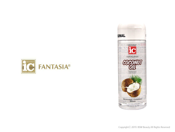FANTASIA IC HAIR POLISHER COCONUT OIL 6oz