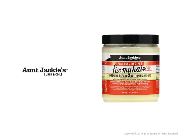 AUNT JACKIES FIX MY HAIR INTENSIVE REPAIR CONDITIONING MASQUE 15oz