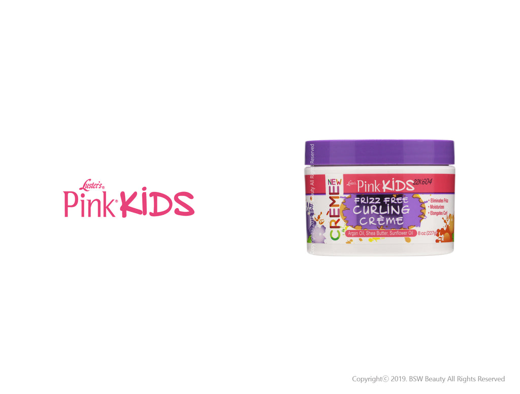 LUSTER'S PINK KIDS FRIZZ FREE CURLING CREME 8oz