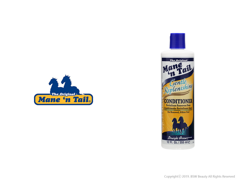 THE ORIGINAL MANE'N TAIL GENTLE REPLENISHING CONDITIONER 12oz