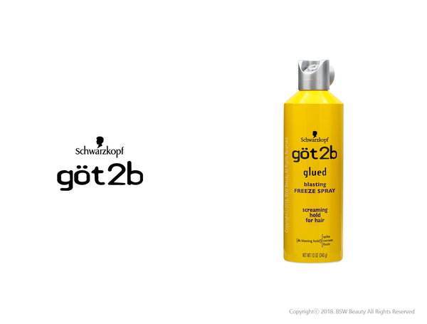 GOT2B GLUED BLASTING FREEZE SPRAY SCREAMING HOLD FOR HAIR 12oz