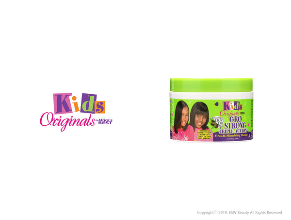AFRICA'S BEST KIDS ORIGINALS GRO STRONG TRIPLE ACTION GROWTH STIMULATING THERAPY 7.5oz