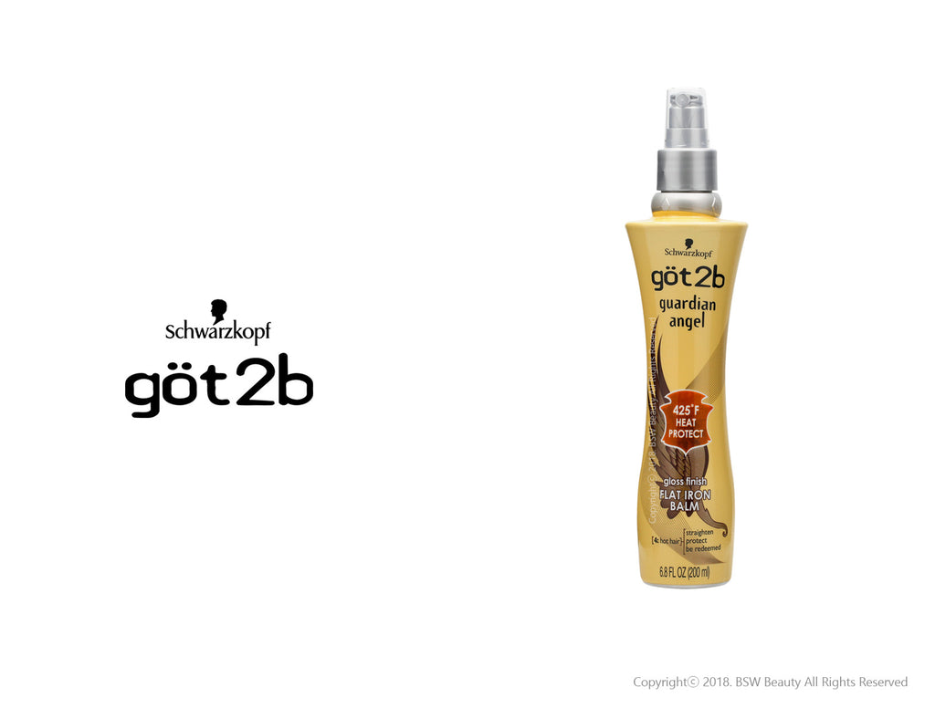 GOT2B GUARDIAN ANGEL GLOSS FINISH FLAT IRON BALM 6.8oz