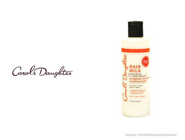 CAROLS DAUGHTER HAIR MILK NOURISHING & CONDITIONING ORIGINAL LEAVE - IN MOISTURIZER 8oz