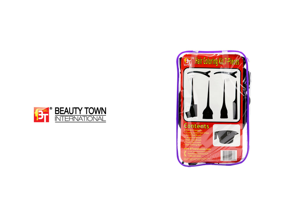 BEAUTY TOWN HAIR COLORING KIT 7-PIECES
