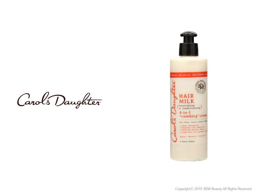 CAROLS DAUGHTER HAIR MILK NOURISHING & CONDITIONING 4-IN-1 COMBING CREME 8oz