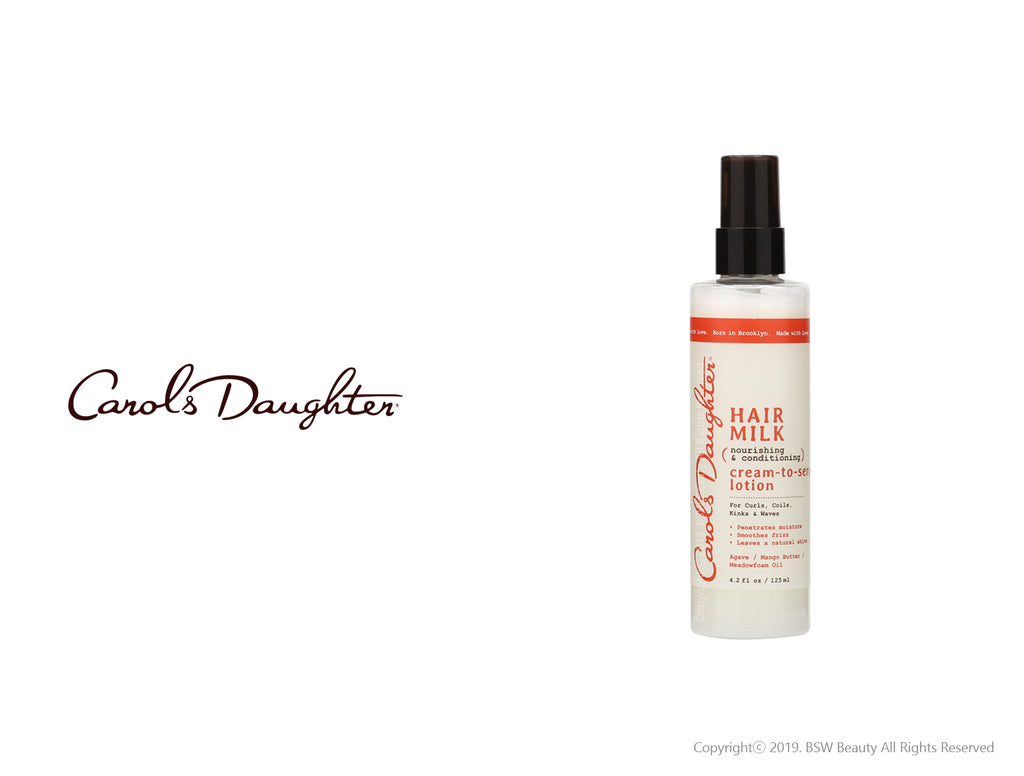 CAROLS DAUGHTER HAIR MILK NOURISHING & CONDITIONING CREAM-TO-SERUM LOTION 4.2oz