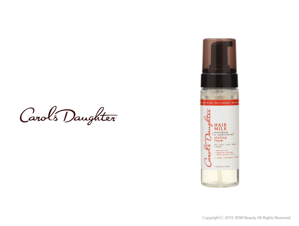 CAROLS DAUGHTER HAIR MILK NOURISHING & CONDITIONING STYLING FOAM 5.85oz