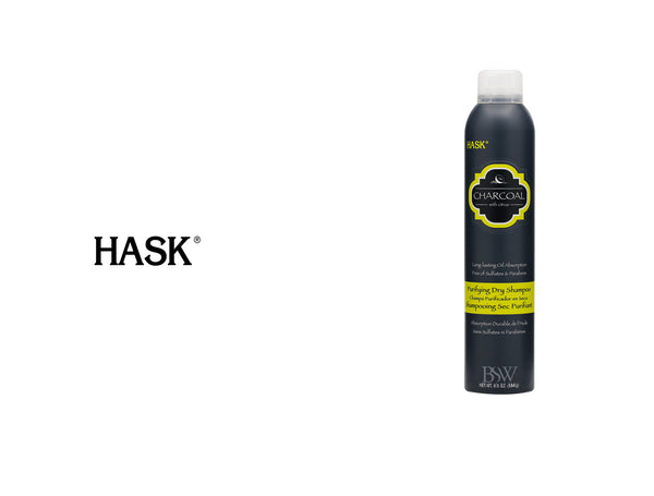 HASK CHARCOAL WITH CITRUS PURIFYING DRY SHAMPOO 6.5oz