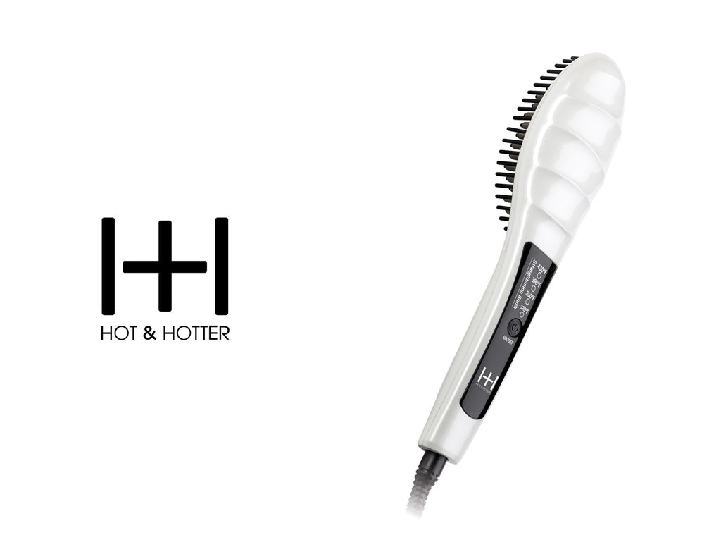 HOT & HOTTER HEATED STRAIGHTENING BRUSH #5948