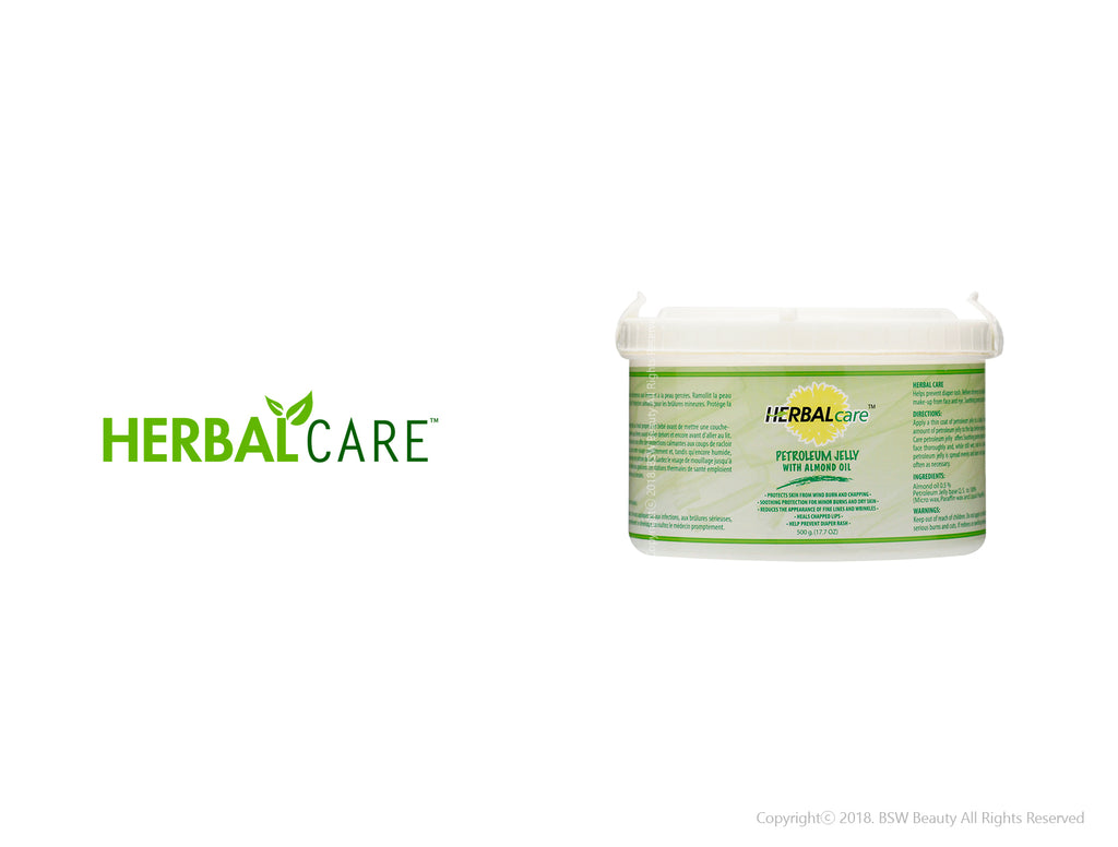 HERBAL CARE PETROLEUM JELLY WITH ALMOND OIL 17.7oz
