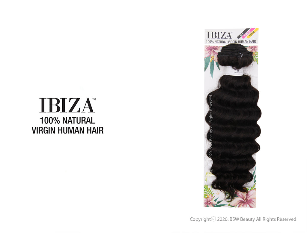 "SHAKE N GO IBIZA 100% NATURAL VIRGIN HUMAN HAIR DEEP 10""-24"""