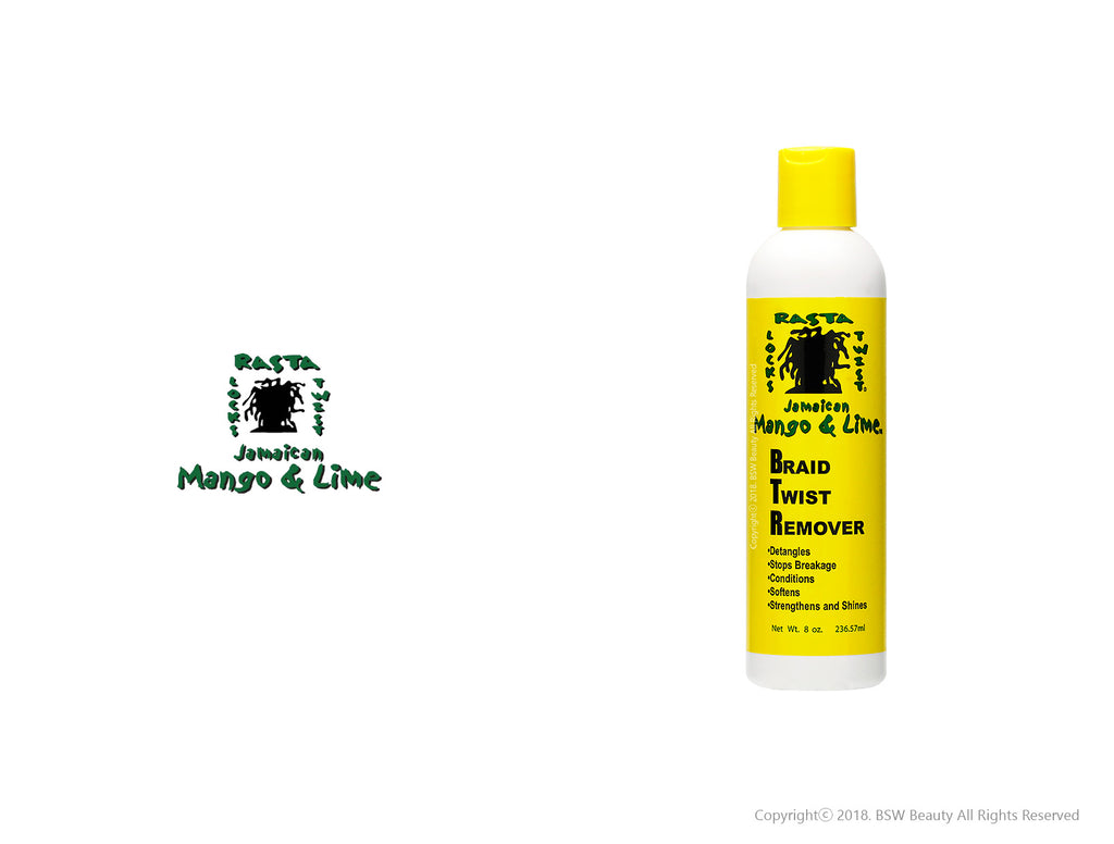 JAMAICAN MANGO & LIME BRAID TWIST REMOVER 8oz