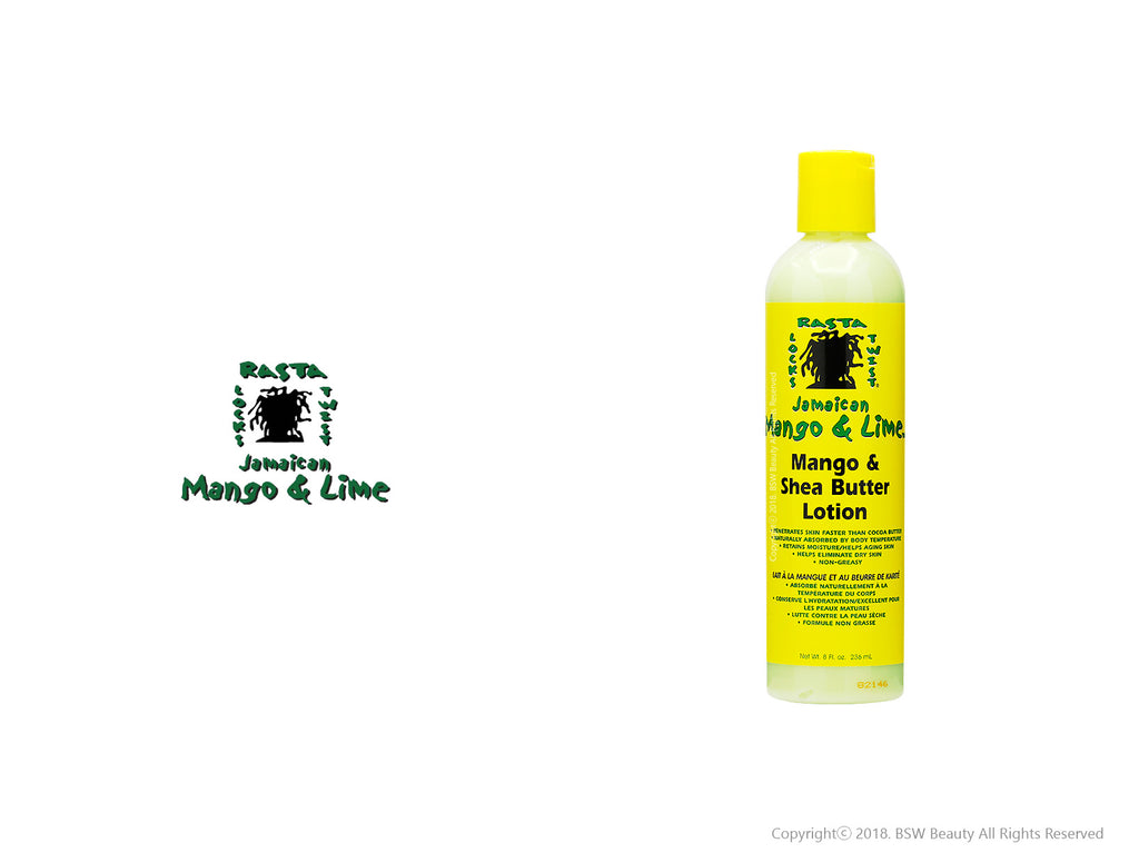 JAMAICAN MANGO & LIME MANGO&SHEA BUTTER LOTION 8oz