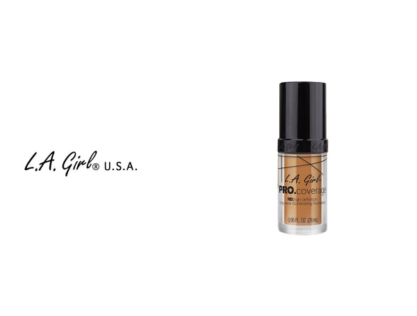 L.A GIRL PRO COVERAGE ILLUMINATING FOUNDATION 0.95oz / W