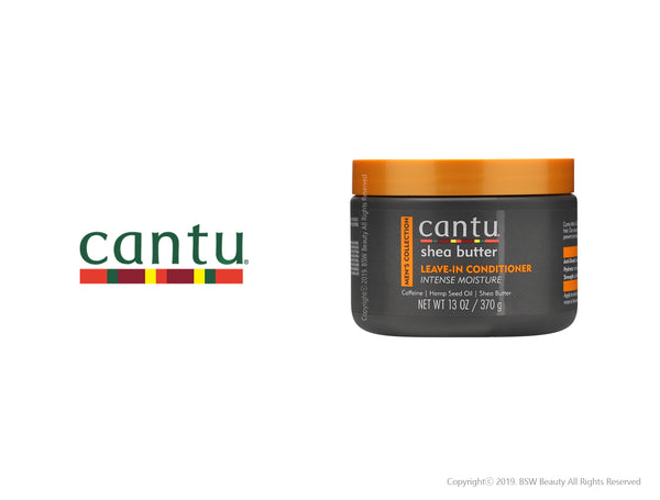 CANTU SHEA BUTTER MENS COLLECTION LEAVE IN CONDITIONER 13oz