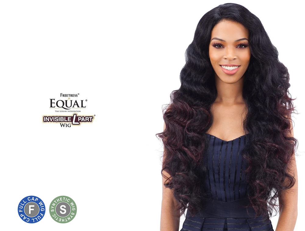 SHAKE N GO FREETRESS EQUAL INVISIBLE L PART WIG LETTY
