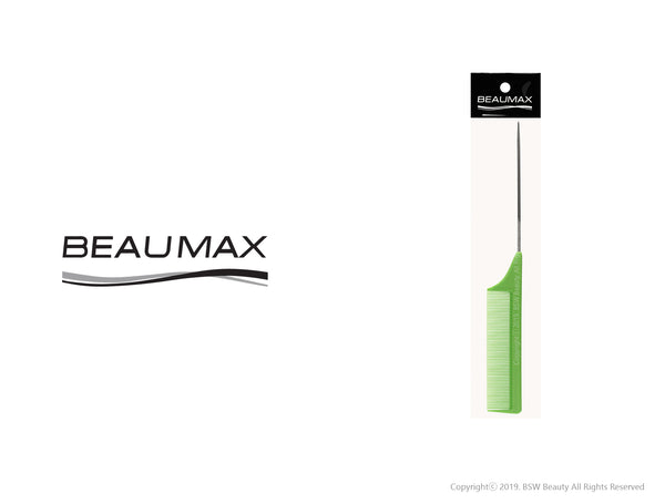 BEAUMAX LONG METAL TAIL COMB #40 (=#60) / W