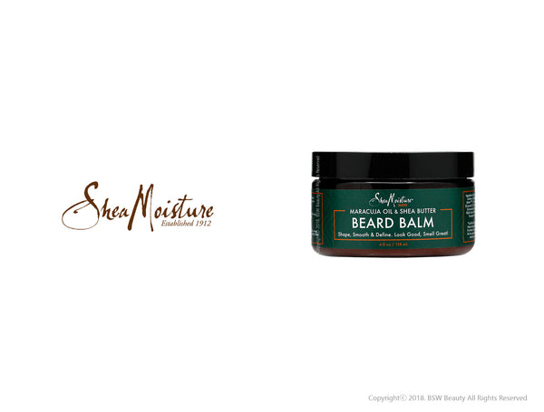 SHEA MOISTURE MEN MARACUJA OIL & SHEA BUTTER BEARD BALM 4oz